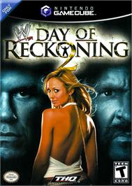 Box cover for WWE Day of Reckoning 2 on the Nintendo GameCube.
