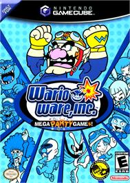 Box cover for WarioWare, Inc.: Mega Party Game$ on the Nintendo GameCube.