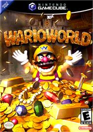 Box cover for Wario World on the Nintendo GameCube.