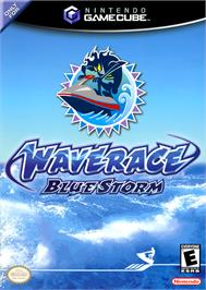 Box cover for Wave Race: Blue Storm on the Nintendo GameCube.