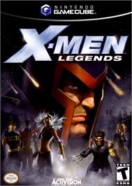 Box cover for X-Men: Legends on the Nintendo GameCube.