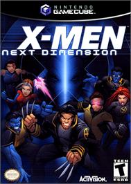 Box cover for X-Men: Next Dimension on the Nintendo GameCube.