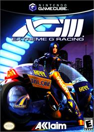 Box cover for XG3: Extreme G Racing on the Nintendo GameCube.