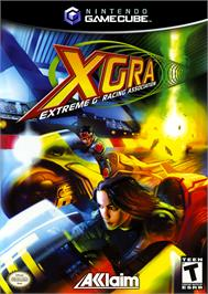 Box cover for XGRA: Extreme G Racing Association on the Nintendo GameCube.