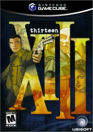 Box cover for XIII on the Nintendo GameCube.