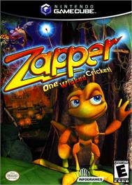 Box cover for Zapper: One Wicked Cricket on the Nintendo GameCube.