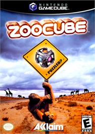 Box cover for ZooCube on the Nintendo GameCube.