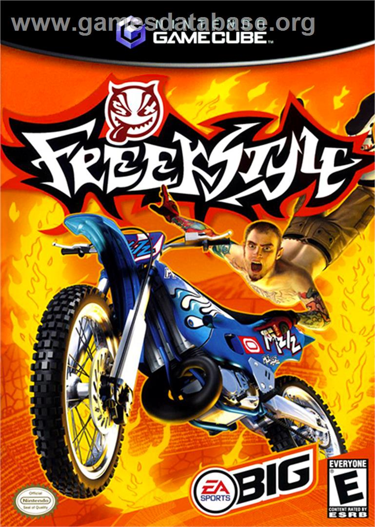 Box cover for Freekstyle on the Nintendo GameCube.