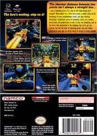 Box back cover for Smashing Drive on the Nintendo GameCube.