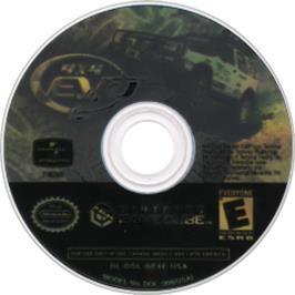 Artwork on the CD for 4x4 Evo 2 on the Nintendo GameCube.