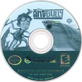 Artwork on the CD for Ant Bully on the Nintendo GameCube.