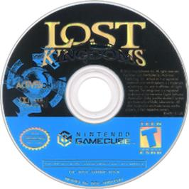 Artwork on the CD for Lost Kingdoms on the Nintendo GameCube.