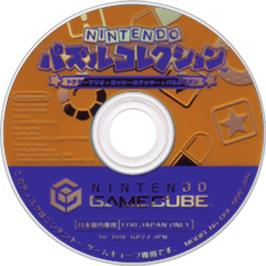 Artwork on the CD for Nintendo Puzzle Collection on the Nintendo GameCube.