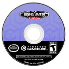 Artwork on the Disc for Big Air FreeStyle on the Nintendo GameCube.