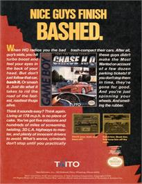 Advert for Chase H.Q. on the Nintendo Game Boy.