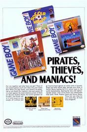 Advert for Hudson Hawk on the Commodore Amiga.