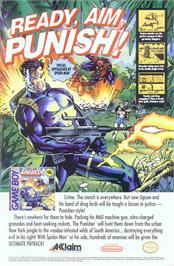 Advert for Punisher: Ultimate Payback on the Nintendo Game Boy.