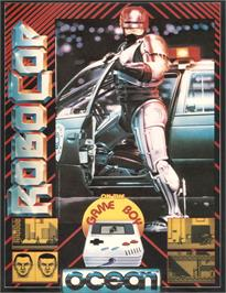 Advert for Robocop on the Nintendo Game Boy.