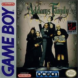 Box cover for Addams Family, The on the Nintendo Game Boy.