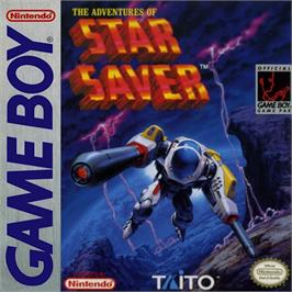 Box cover for Adventures of Star Saver on the Nintendo Game Boy.