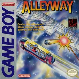 Box cover for Alleyway on the Nintendo Game Boy.