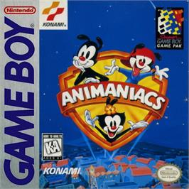 Box cover for Animaniacs on the Nintendo Game Boy.