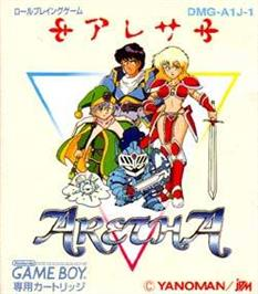 Box cover for Aretha on the Nintendo Game Boy.