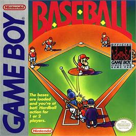 Box cover for Baseball on the Nintendo Game Boy.