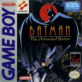 Box cover for Batman: The Animated Series on the Nintendo Game Boy.