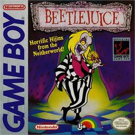 Box cover for Beetlejuice on the Nintendo Game Boy.