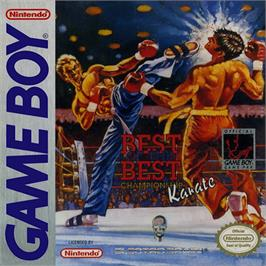 Box cover for Best of the Best Championship Karate on the Nintendo Game Boy.