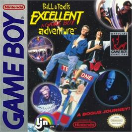 Box cover for Bill & Ted's Excellent Game Boy Adventure on the Nintendo Game Boy.