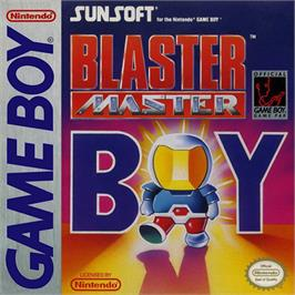 Box cover for Blaster Master Boy on the Nintendo Game Boy.