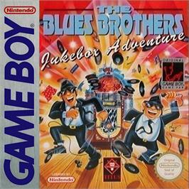 Box cover for Blues Brothers: Jukebox Adventure on the Nintendo Game Boy.
