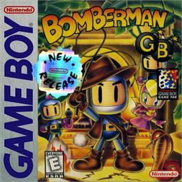 Box cover for Bomberman GB on the Nintendo Game Boy.