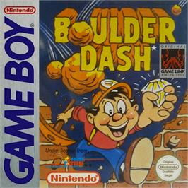 Box cover for Boulder Dash on the Nintendo Game Boy.