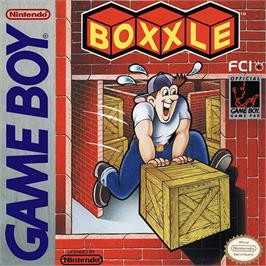 Box cover for Boxxle on the Nintendo Game Boy.
