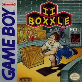Box cover for Boxxle II on the Nintendo Game Boy.