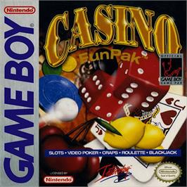 Box cover for Casino FunPak on the Nintendo Game Boy.