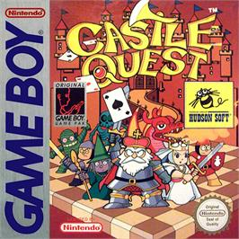 Box cover for Castle Quest on the Nintendo Game Boy.