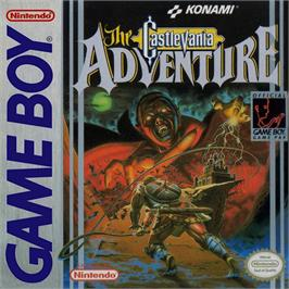 Box cover for Castlevania: The Adventure on the Nintendo Game Boy.