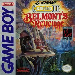 Box cover for Castlevania II: Belmont's Revenge on the Nintendo Game Boy.