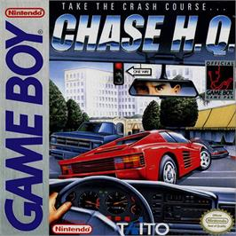 Box cover for Chase H.Q. on the Nintendo Game Boy.
