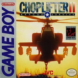 Box cover for Choplifter 2 on the Nintendo Game Boy.