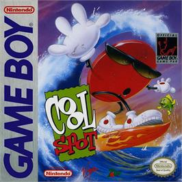 Box cover for Cool Spot on the Nintendo Game Boy.
