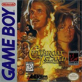 Box cover for Cutthroat Island on the Nintendo Game Boy.