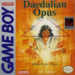 Box cover for Daedalian Opus on the Nintendo Game Boy.