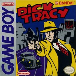 Box cover for Dick Tracy on the Nintendo Game Boy.