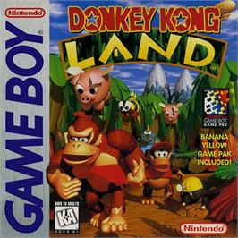 Box cover for Donkey Kong Land on the Nintendo Game Boy.