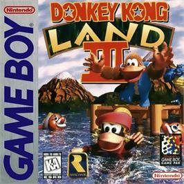 Box cover for Donkey Kong Land 3 on the Nintendo Game Boy.